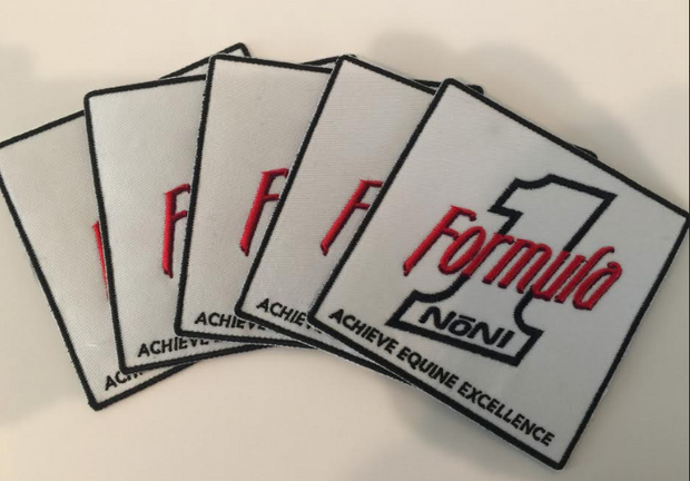 Formula 1 Noni Embroidered Patch (Iron On) 5 Pack