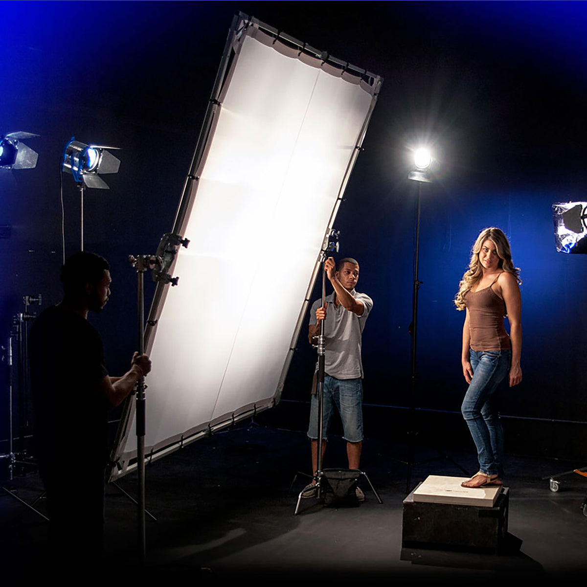 Lighting Modifiers - 8ft x 8ft - Silks, Diffusion and Blacks