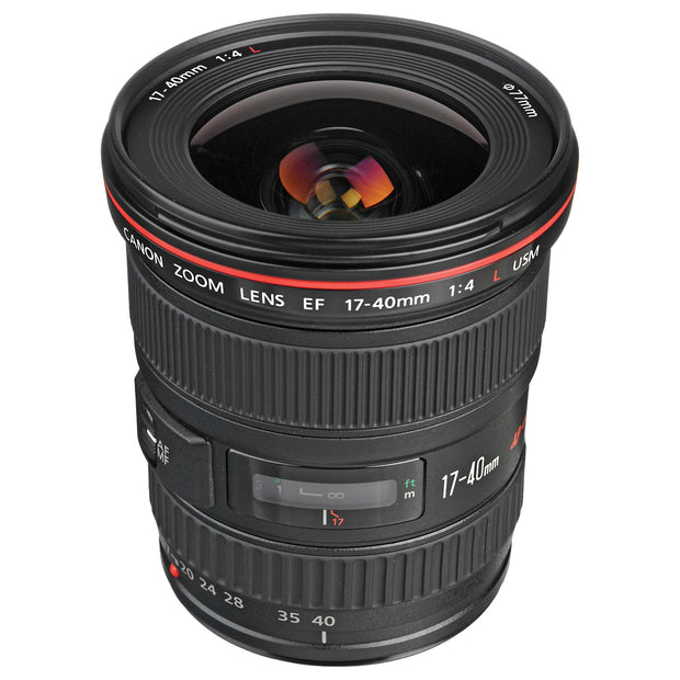 Canon EF L Series 17-40mm F4 Lens