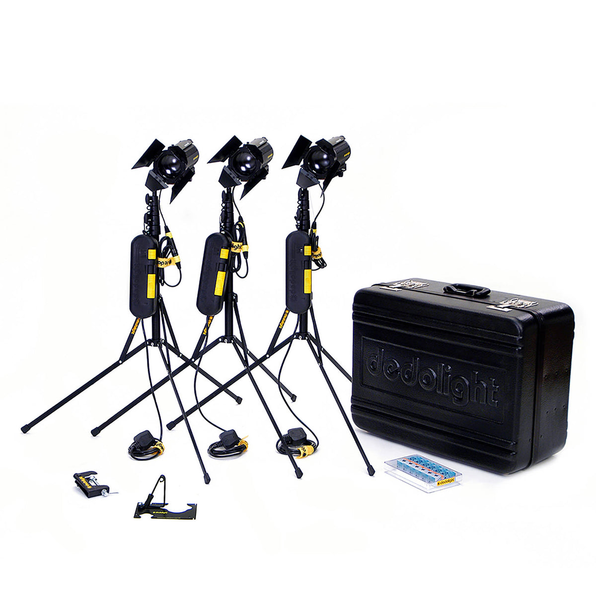 Dedo DLH4 150w tungsten light 3 kit