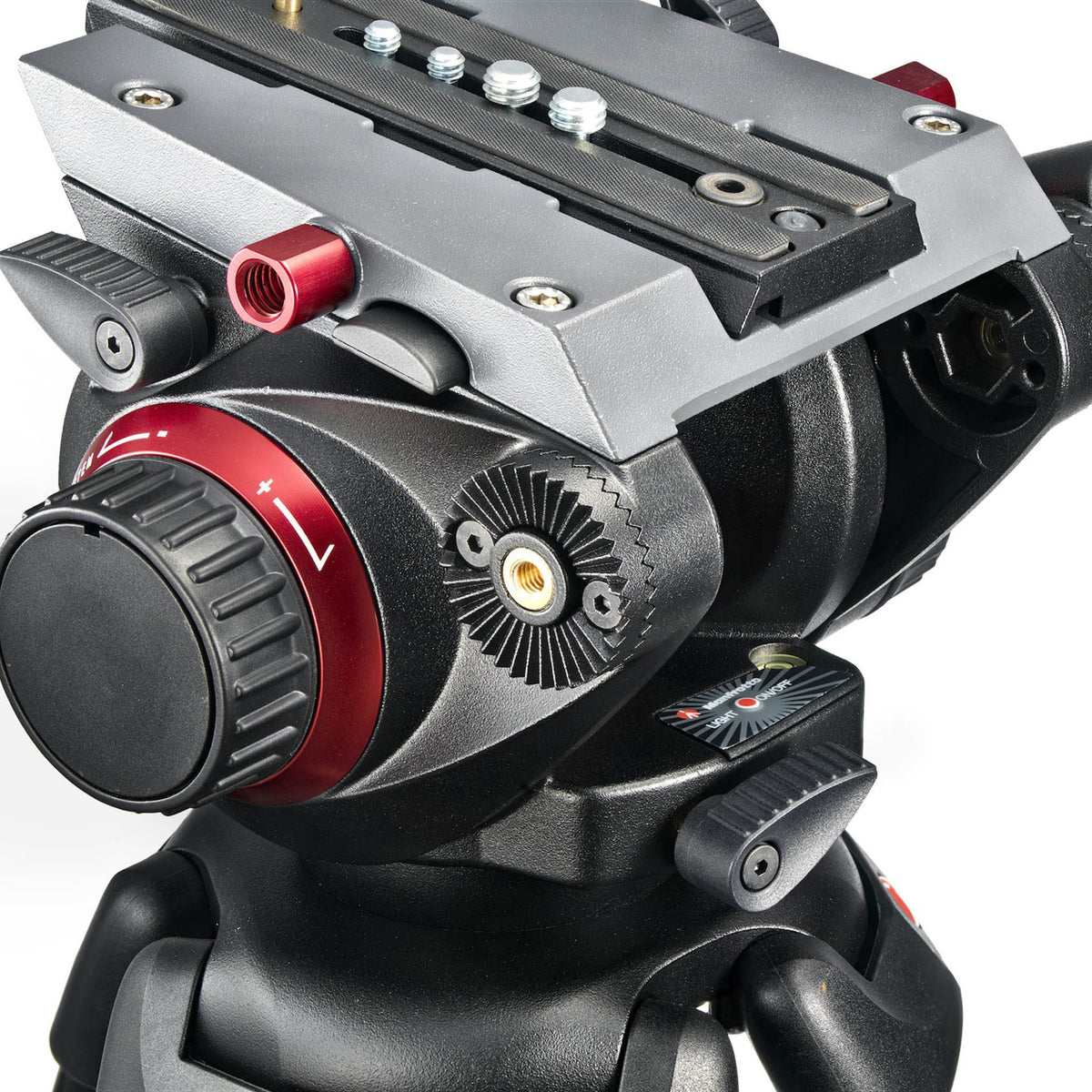 Manfrotto 504HD Tripod Head 3/4 View