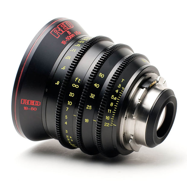 RED PRO 18-50mm F/2.8 T/3.0 ZOOM PL Mount Lens