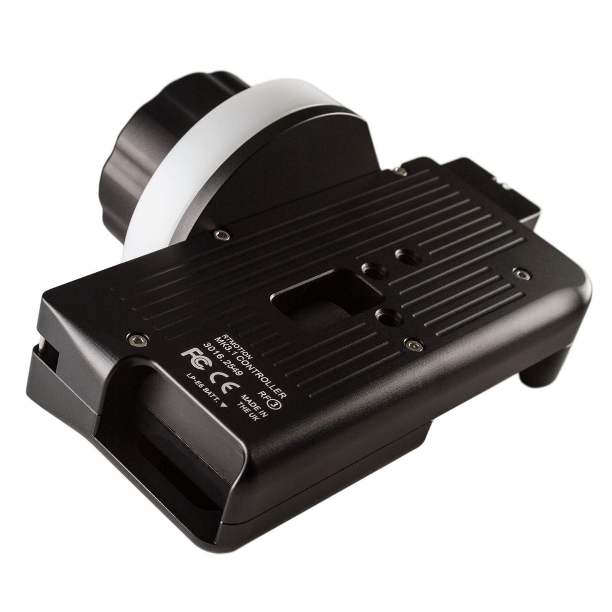 RT Motion MK3.1 wireless follow focus hand controller back