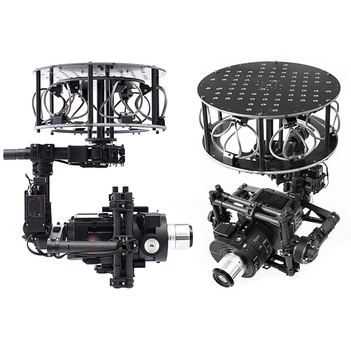 Stratus Productions CVI Underslung stabilizer with gimbal