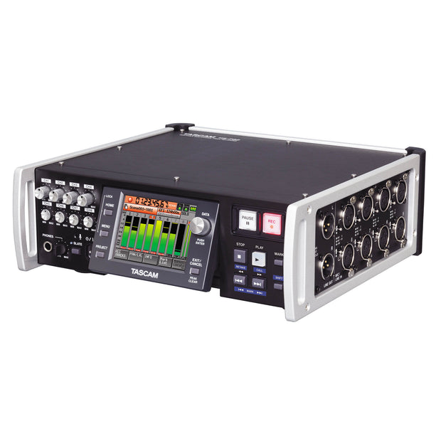 Tascam HS-P82 8 Channel Audio Recorder Front