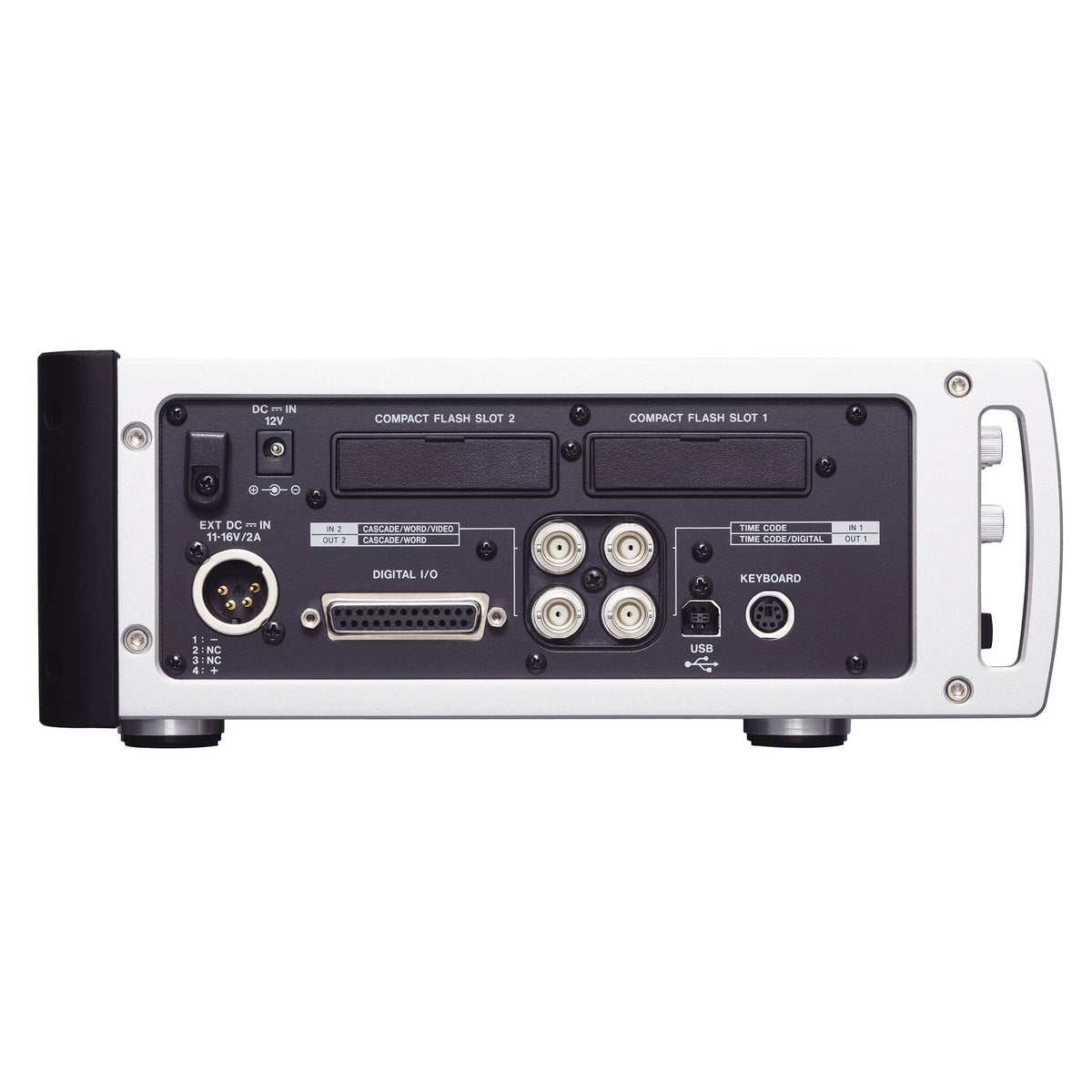 Tascam HS-P82 8 Channel Audio Recorder left