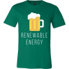 Renewable Energy Mens Canvas Shirt