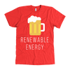 Renewable Energy Mens American Apparel T-Shirt