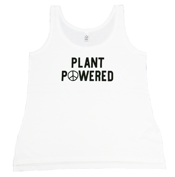 Plant Powered TShirt, Earth Forever Vegan TShirt Brand