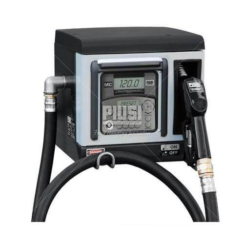 PIUSI FMS 240V AC 70lpm Cube - 70 MC 50 Users, Suction Filter, Pump, 4m Delivery Hose, Auto Nozzle