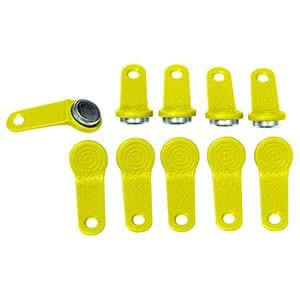 PIUSI FMS User Key Yellow PKT 10