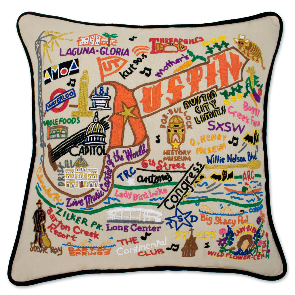 Austin, Texas (City) Pillow