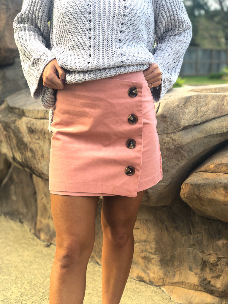 Best Kept Secret Skirt - Pink