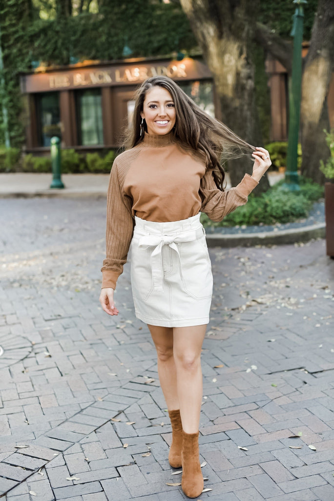 Cocoa and Cuddles Turtleneck Top