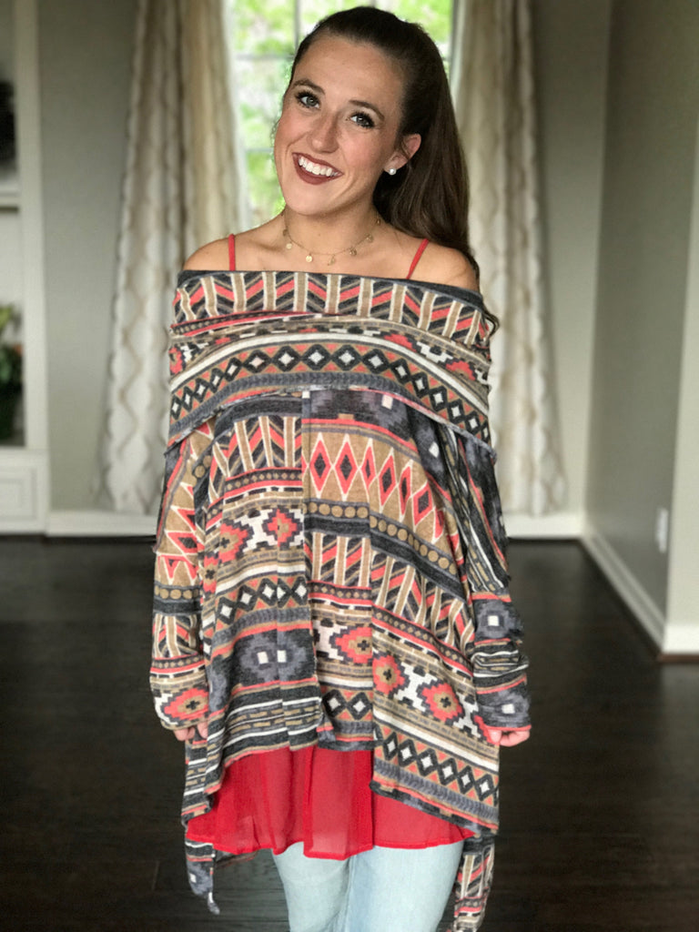 Colors Of The Wind Tunic