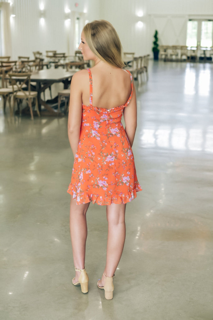 Daylight Dancing Floral Dress
