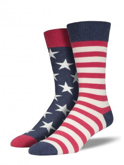 American Flag Socks - Men's Size