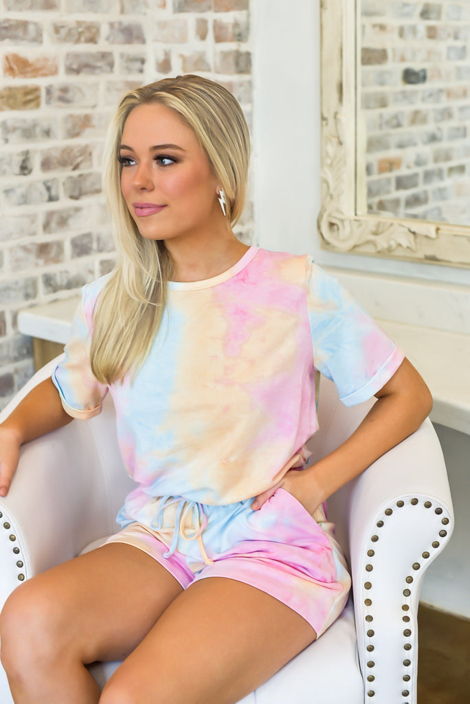 Life of the Party Tie Dye Romper