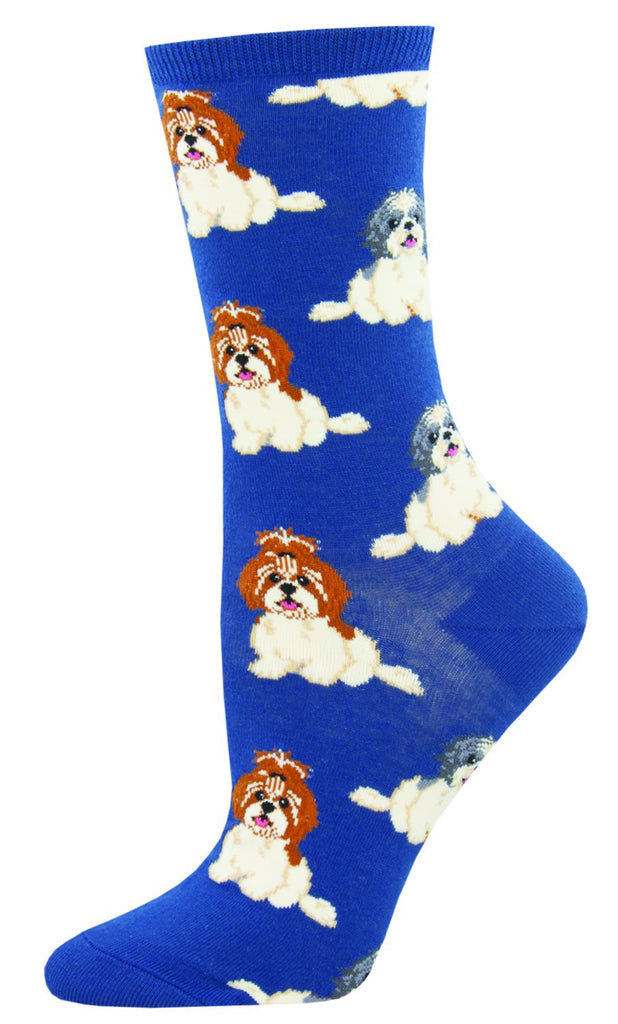 I Shih Tzu Not Socks - Blue