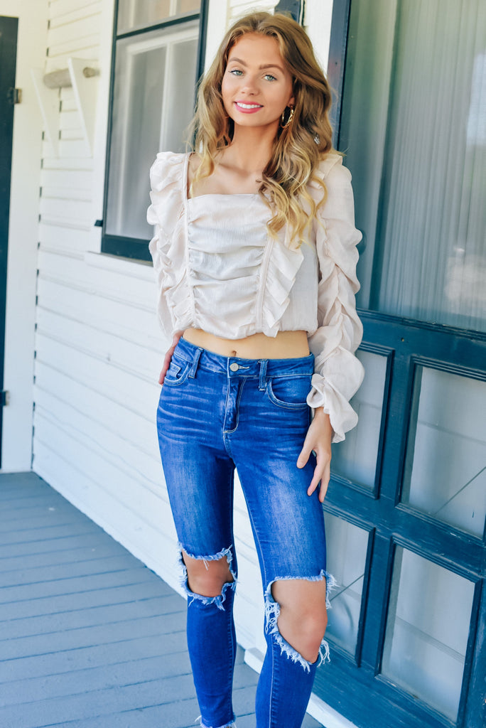 Modern Romance Top in Blush