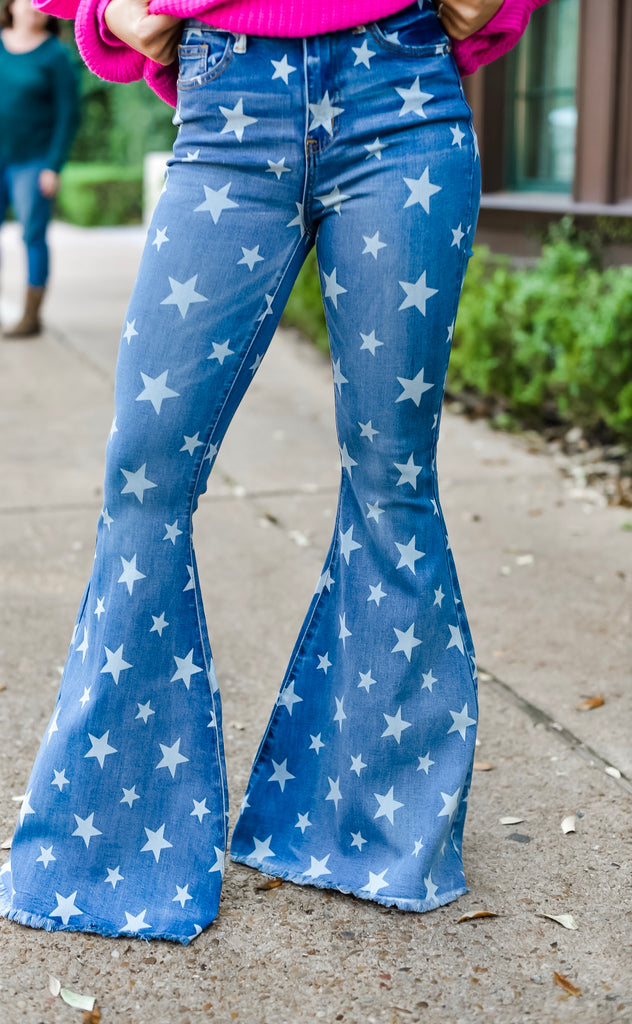 Star of the Show Flare Jeans