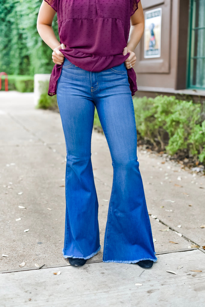 Strut Your Style Flare Jeans