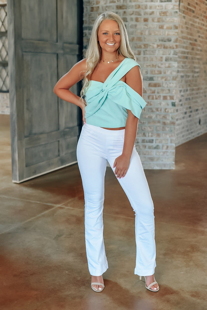 Sweet Intentions Top in Mint