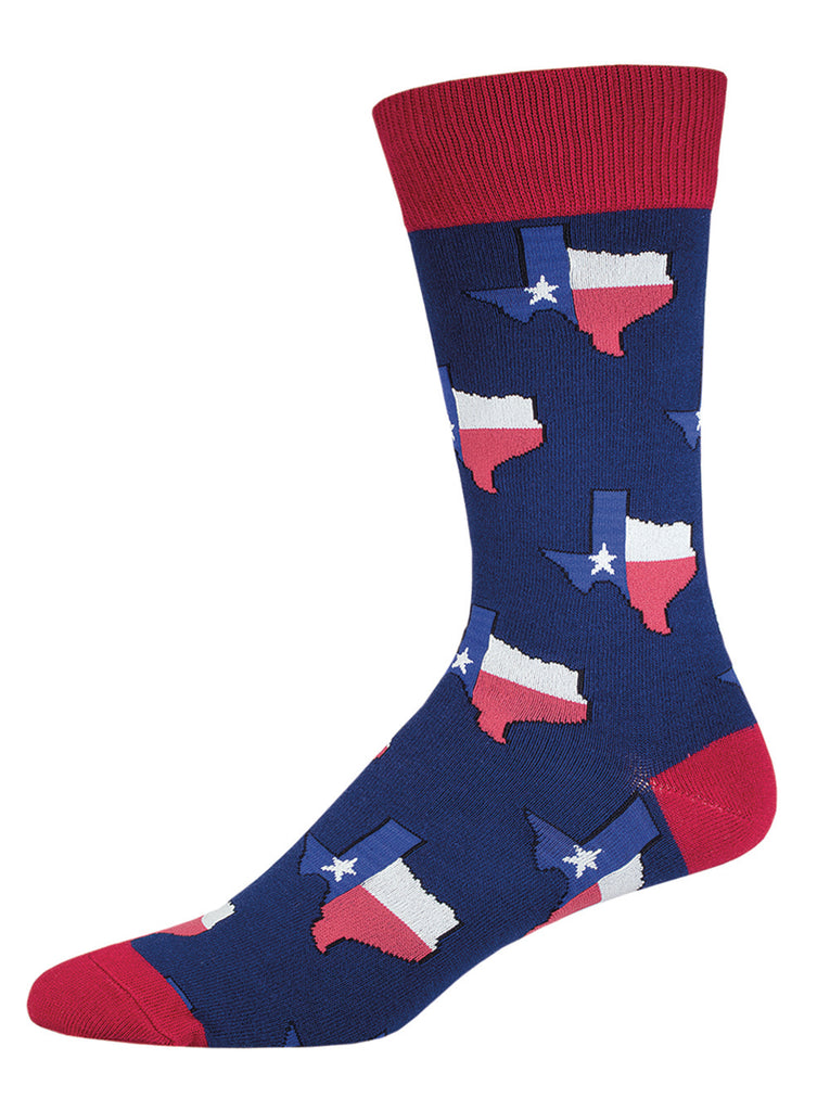 Texas Flag Socks - Men's Size
