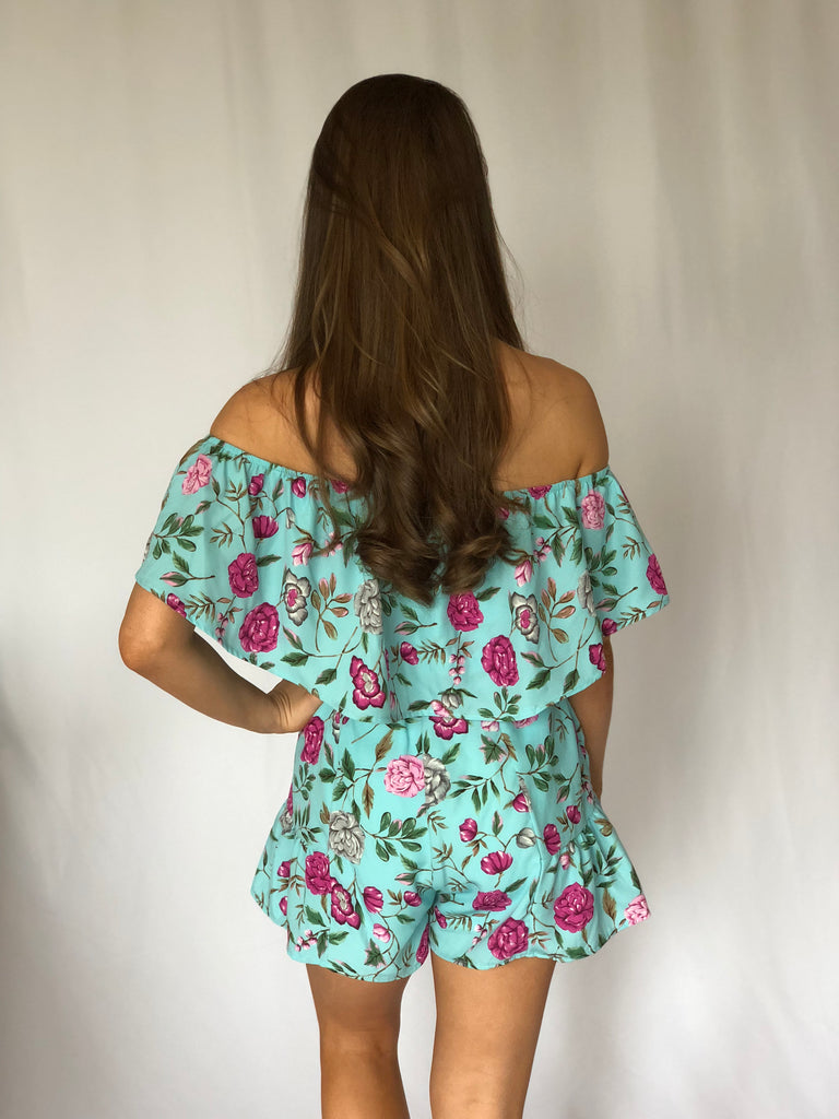Turquoise Waters Romper