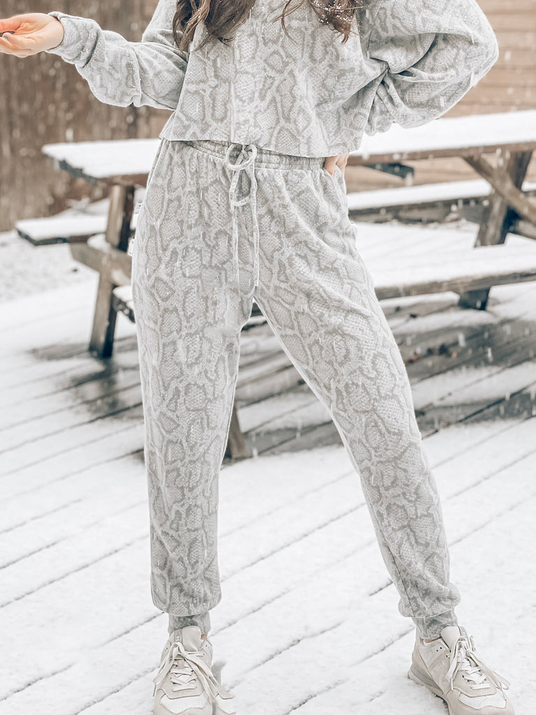 Winter Dreams Snake Joggers