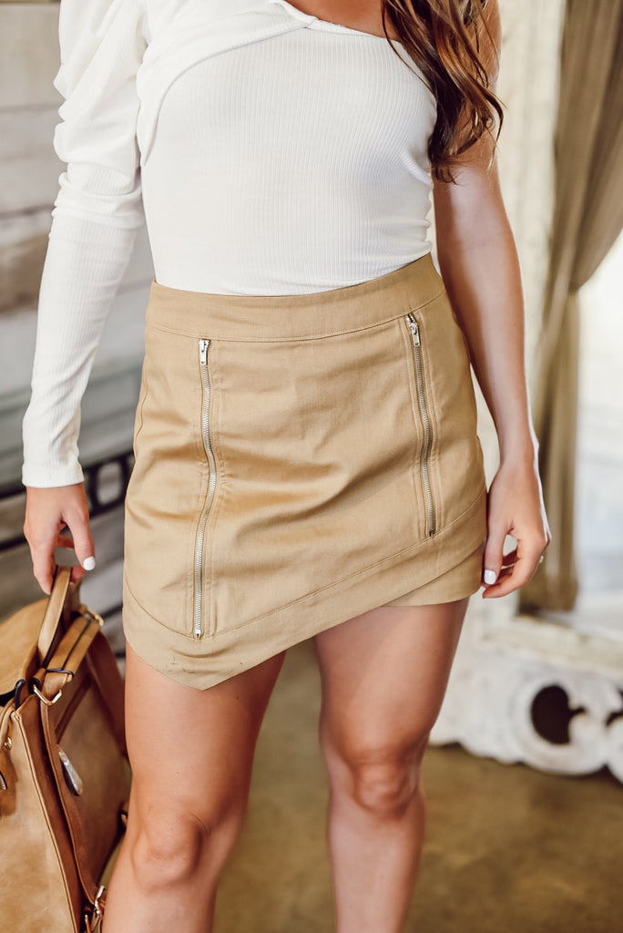 You Know Me Best Twill Skort