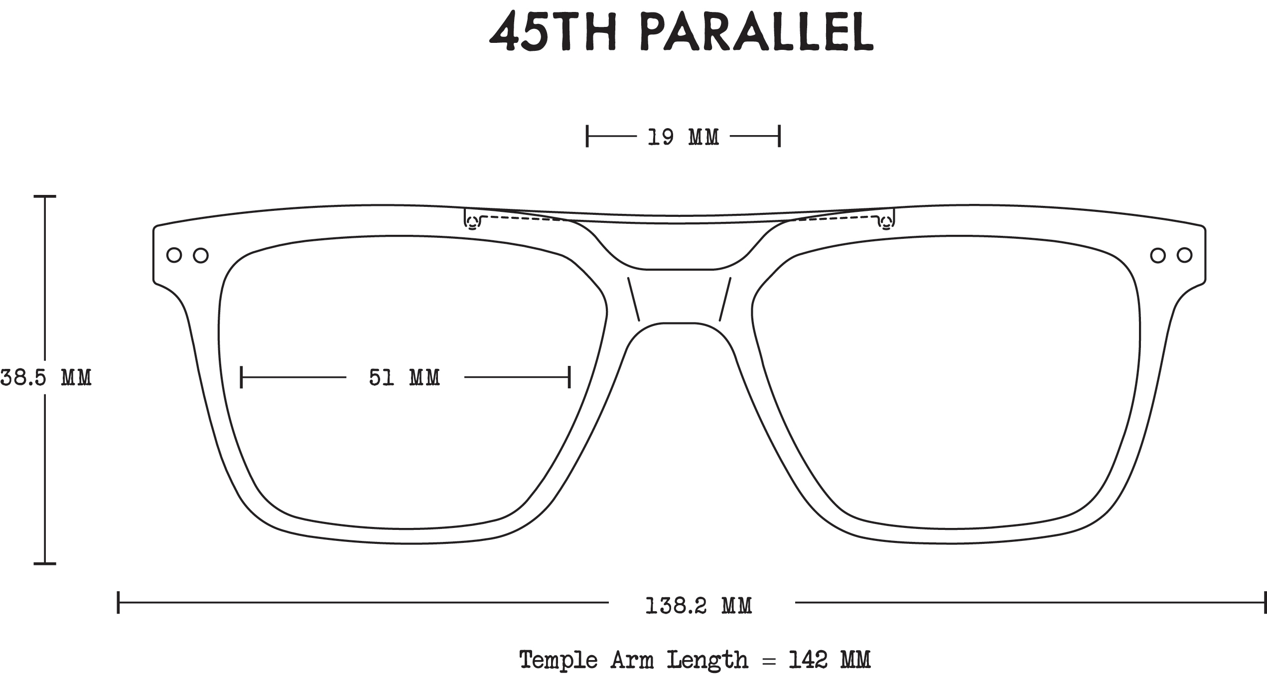The Haze // 45th-Parallel Acetate Fit Guide