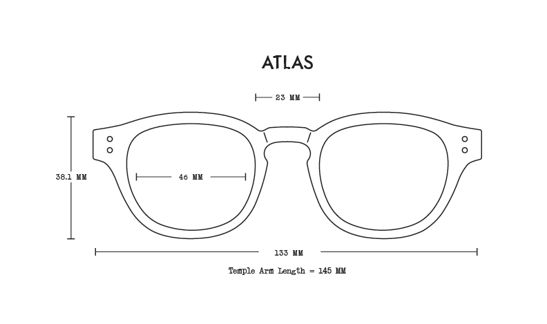 The Haze // Atlas Acetate Fit Guide