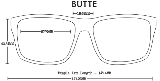 Butte Acetate Fit Guide