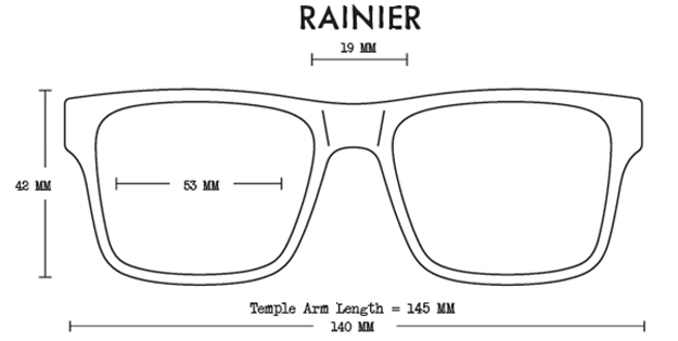 Rainier Acetate Fit Guide