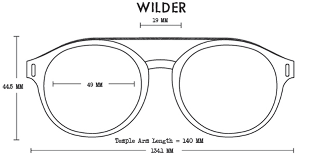 Wilder Acetate Fit Guide