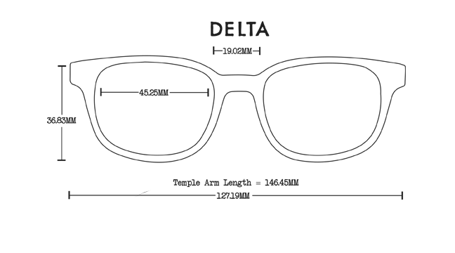 Delta Acetate Rx Optical Fit Guide