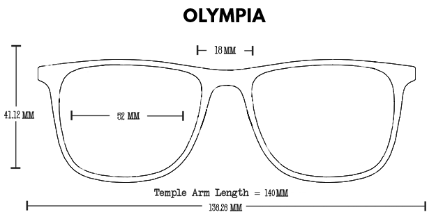 Olympia Aluminum Rx Optical Fit Guide