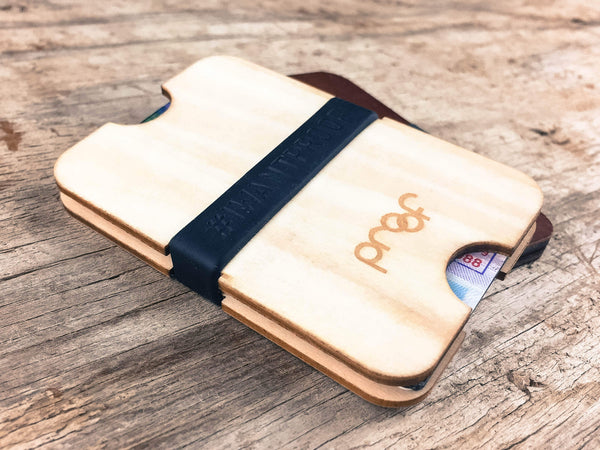 The Slab Eco-Friendly Natural Wood Wallet