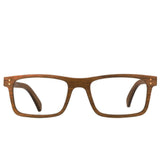 Walnut // Clear Lens