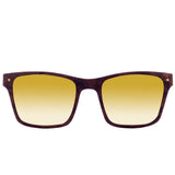 Walnut // Gold Mirror Polarized Lens