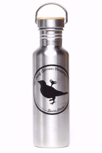 750mL Stainless Steel Proof Eyewear Water Bottle