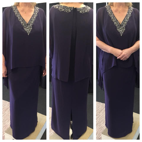 A9018 Deep purple size 22