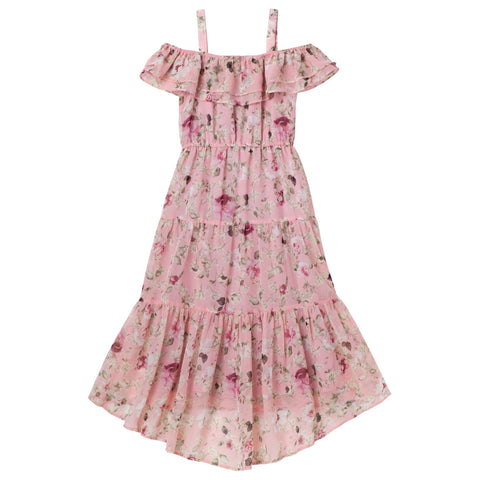 Hailey Floral Tiered Dress