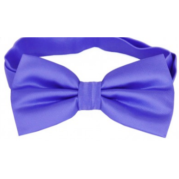 Cornflower Blue Mens Bow Tie