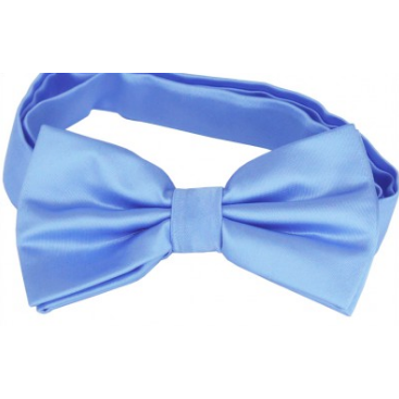 Sky Blue Mens Bow Tie