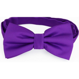 Violet Purple Mens Bow Tie