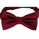 Burgundy Mens Bow Tie