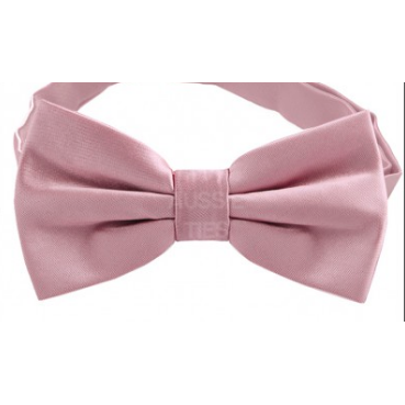 Dusty Pink Mens Bow Tie