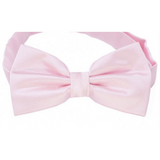 Baby Pink Mens Bow Tie
